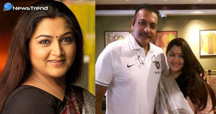 रवि शास्त्री के लिए इस वरिष्ठ महिला नेता ने किया 33 साल इंतजार, मिलकर किया कुछ इस तरह इजहार