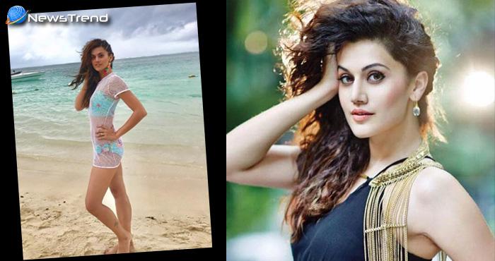तापसी पन्नू नें सोशल मीडिया पर की बिकनी वाली फोटो पोस्ट और होने लगीं ट्रोल, दिया इस तरह से जवाब...