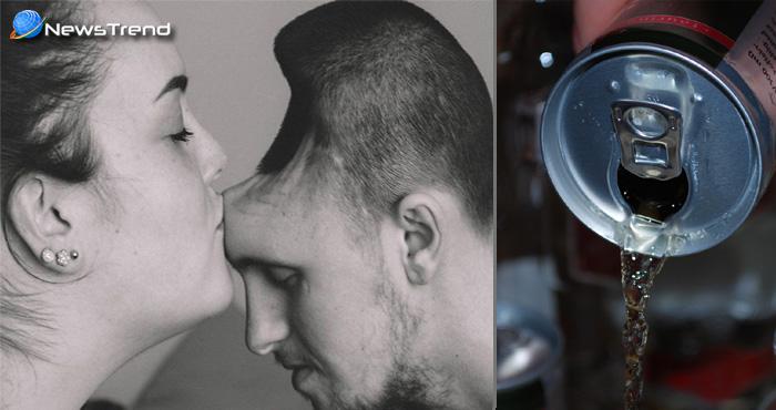 एनर्जी ड्रिंक पीने से युवक के  सिर हुआ वो हाल, देखकर डरने लगी बीवी