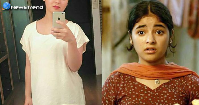दंगल : आमिर की बेटी का हो गया मेकओवर, अब बेहद खूबसूरत दिखती है छोटी 'गीता'....