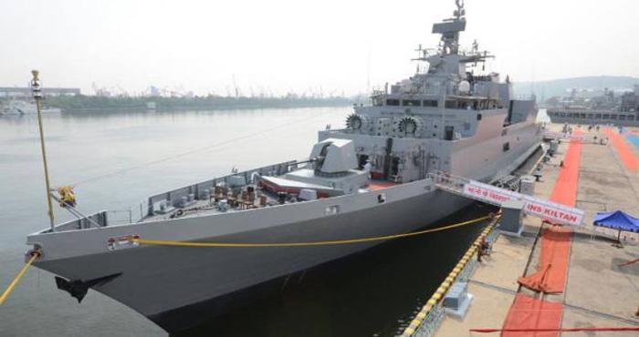 भारतीय नौसेना को मिला सबसे घातक युद्धपोत INS किलटन, बढ़ेगी समुद्र में भारत की ताकत