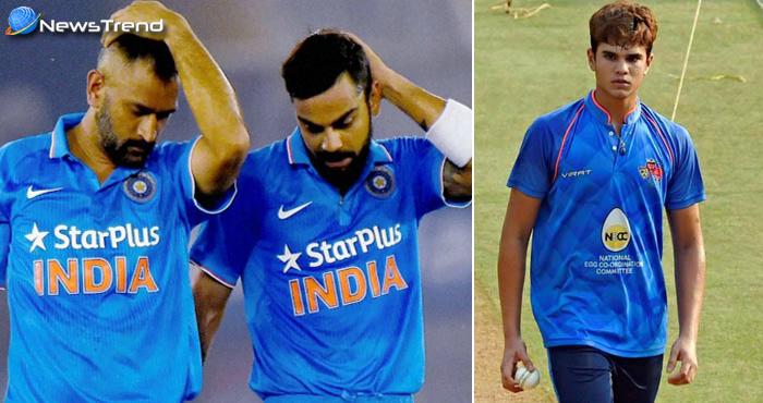 मुश्किल में फंसे विराट कोहली और टीम इंडिया, सचिन तेंदुलकर के बेटे अर्जुन से है 'आखिरी उम्मीद'