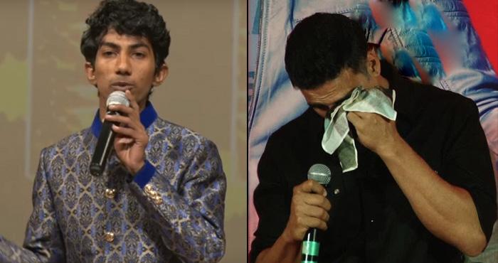 मोदी जी की आवाज में कॉमेडियन ने कहा कुछ ऐसा कि आ गए अक्षय कुमार की आंखों में आंसू: देखें वीडियो