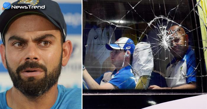 भारत को पाकिस्तान बनाने में जुटे कुछ लोग, भारत की हार के बाद ऑस्ट्रेलियाई क्रिकेट टीम की बस पर हमला