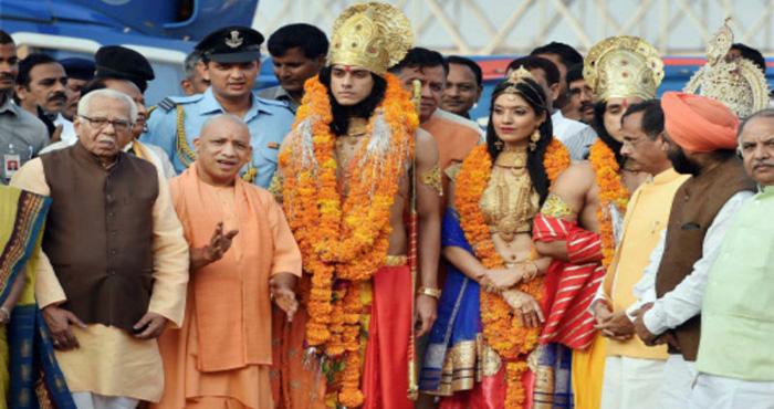 मुख्यमंत्री योगी ने अयोध्या में दिवाली कार्यक्रम के दौरान दिया रामराज्य की यह परिभाषा