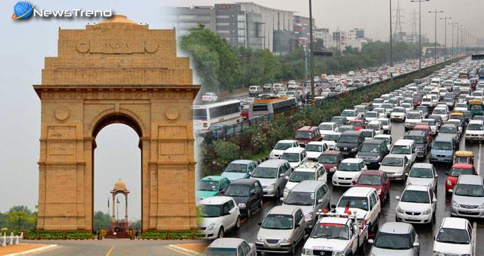 दिल्ली में फिर से ऑड-इवन, दो पहिया और CNG वाहनों को मिलेगी छूट