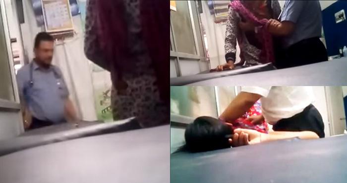 इलाज के बहानें डॉक्टर ने क्लिनिक में की महिला से गन्दी हरकत, वीडियो वायरल