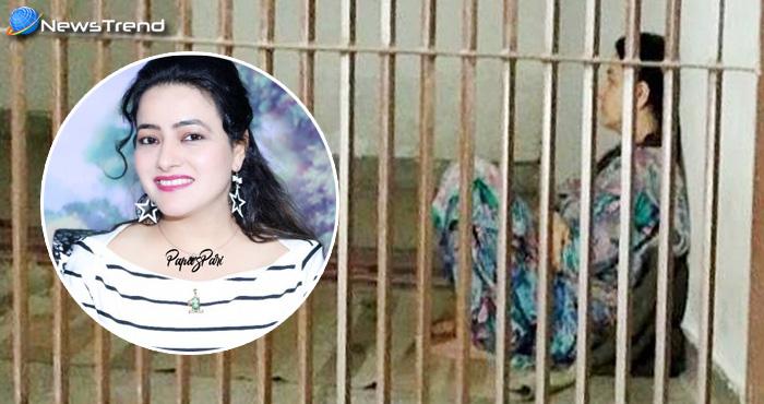 चार रोटी और दाल-सब्जी खाकर दरी पर सोयी राम रहीम की लाड़ली, ऐसी रही जेल में हनीप्रीत की पहली रात