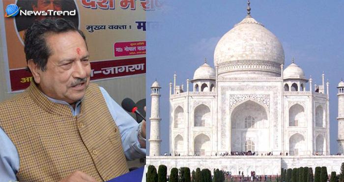 ताजमहल विवाद के बारे में बोलते हुए इन्द्रेश कुमार ने कहा होनी चाहिए भारत के इतिहास पर बहस