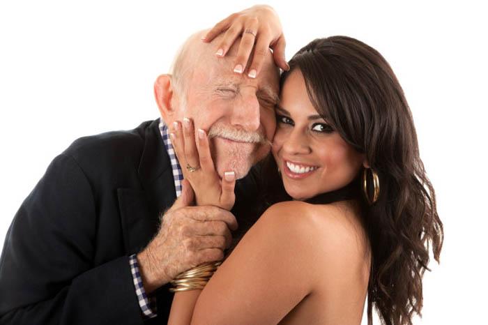 Dating a wealthy older man