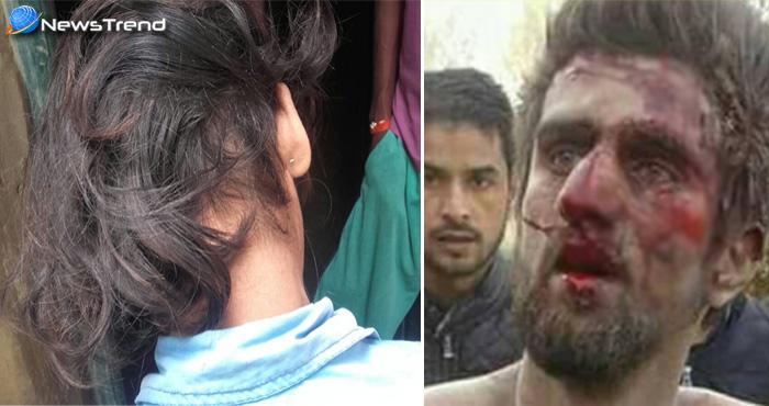 कश्मीर में चोटीकटवा का आतंक, चोटीकटवा समझकर विक्षिप्त युवक को बुरी तरह पिटा फिर की जलानें की कोशिश
