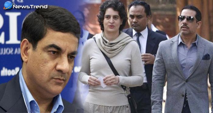 बीजेपी ने जमकर घेरा कांग्रेस को, उठाया आर्म्स डीलर संजय भंडारी से रॉबर्ट वाड्रा के रिश्ते पर सवाल
