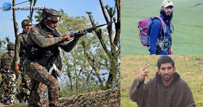 सेना ने लगाई हैट्रिक : तीन आतंकी संगठनों को दिया ज़ोर का झटका, 4 आतंकी को पहुँचाया जहन्नुम