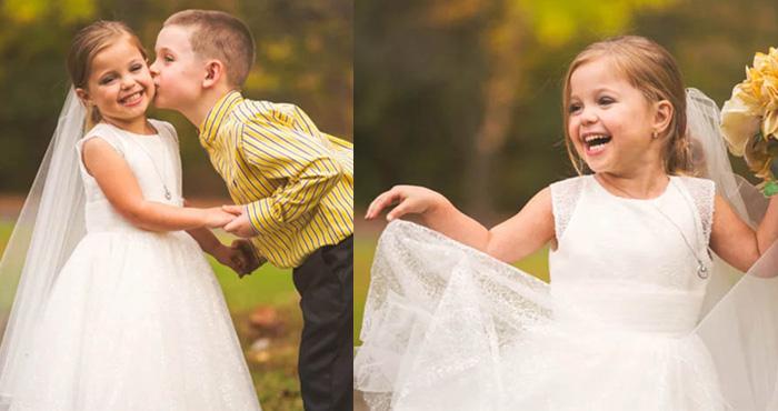 5 साल की उम्र में दुल्हन बन बेस्ट फ्रेंड के साथ कराना चाहती थी शादी, वजह जानकर भर आएगी आंखें- देखें तस्वीरें