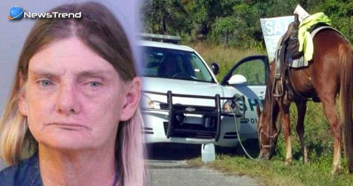 शराब के नशे में घुड़सवारी करना इस महिला को पड़ गया बहुत भारी, पुलिस ने यह आरोप…