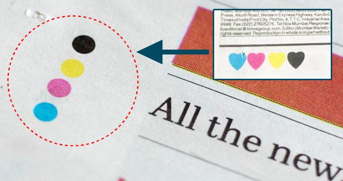 अखबार में दिखने वाली इन चार रंग वाली बिंदी का मतलब क्या हैं? जानकर चौंक जाएंगे