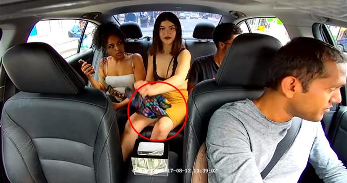 देखिए वीडियो : ड्राइवर के पैसे चुरा कर भागी लड़की, पकड़ी गई और फिर....