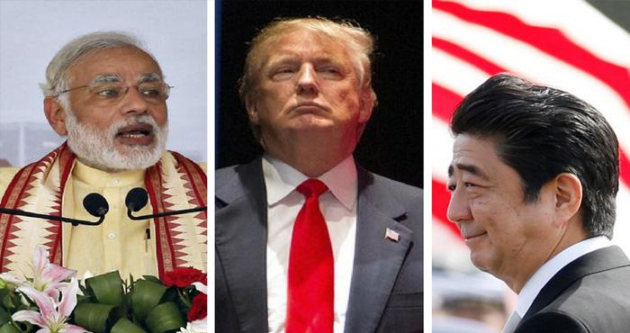 अमेरिका ऑस्ट्रेलिया और जापान हिन्द-प्रशांत क्षेत्र में बढ़ाएंगे भारत के साथ सहयोग