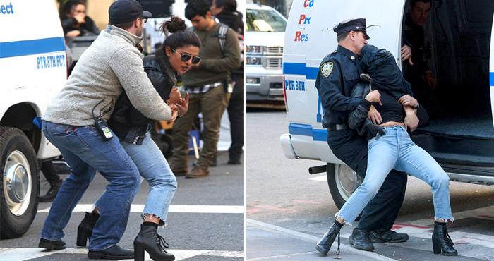प्रियंका चोपड़ा को अमेरिकी पुलिस ने न्यूयॉर्क में किया गिरफ्तार?