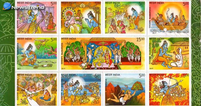 श्रीराम, सीता और हनुमान के चित्रों के डाक टिकट पर होने से विवाद, हिन्दू नेता ने पत्र लिखकर की बंद करने की माँग