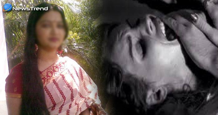 घर के बाहर सो रही महिला के साथ गैंगरेप, घटना सीसीटीवी में कैद, देखें वीडियो