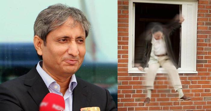 NDTV के पत्रकार रवीश कुमार के साथ ये क्या हो गया? खिड़की से लगा दी छलांग और फिर....