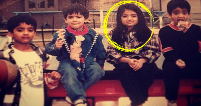 तस्वीर में दिख रही ये लड़की है बॉलीवुड के फेमस एक्टर की बेटी, क्या पहचान पाएंगे आप?