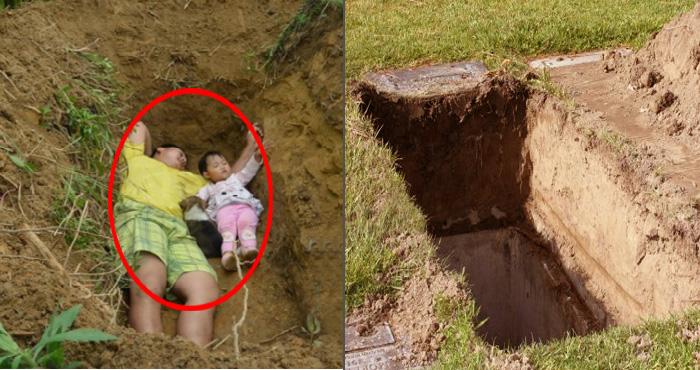 हर रोज बेटी के साथ कब्र में सोता है यह पिता, वजह जानकर आ जाएंगे आँखों में आँसू….