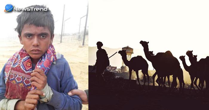 पाकिस्तानी बच्चा ऊंट चराते हुए पहुंचा भारत की सीमा पर, BSF ने किया बच्चे के साथ…