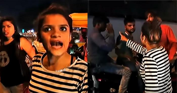 लड़की को छेड़ रहे थे दो मनचले, लड़की ने स्कूटी रोकी और पीट-पीट कर बेहाल कर दिया : देखिए वीडियो