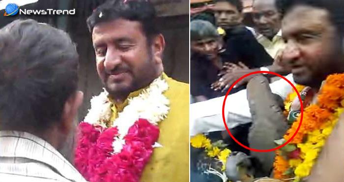 महंगाई के विरोध में यात्रा निकाल रहे थे कांग्रेस के विधायक जी, गुजरात वालों ने पकड़कर कूट दिया-देखें विडियो