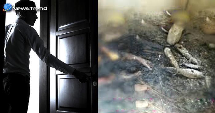 रात को मां अपने कमरे में सोई, सुबह बेटे ने दरवाजा खोला तो मिली उसकी राख