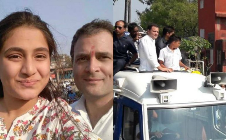 गुजरात में दौरे के दौरान राहुल गाँधी को मिले दो डाई हार्ड फैन, दिखाया गुजरात का असली सच