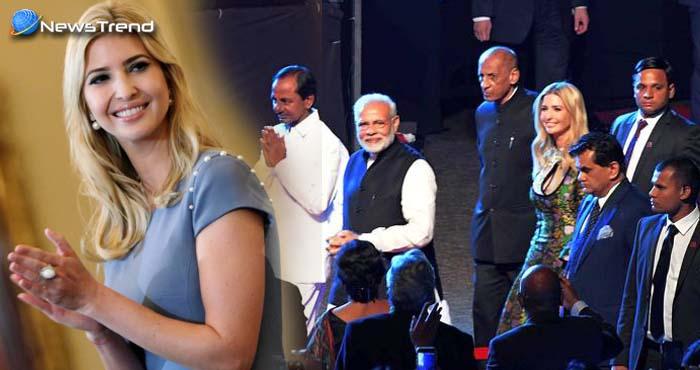 दुनिया की सबसे शक्तिशाली बेटी इवांका ने रखा भारत में कदम, सुरक्षा में लगाये गए 10 हजार से ज्यादा सैनिक