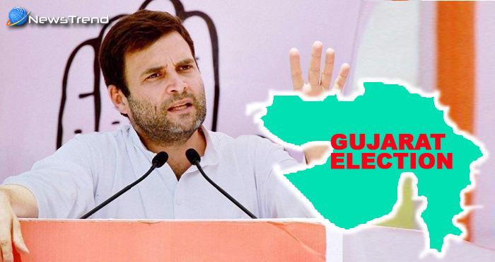गुजरात चुनाव: राहुल गाँधी का केंद्र पर वार, कहा गुजरात की जनता ने आख़िरकार झुका ही दिया केंद्र सरकार को