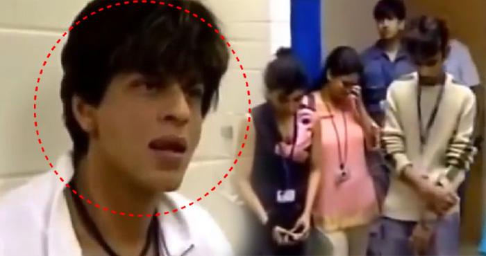 OMG ये किस पर इतनी ज़ोर से चिल्ला पड़े शाहरुख़, उसके बाद जो हुआ देखकर यकीन नहीं होगा- विडियो
