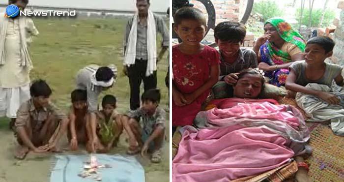 हृदय विरादक: बेटों के पास नहीं थे कफ़न के पैसे, भीख माँगकर किया दो दिन बाद माँ का अंतिम संस्कार