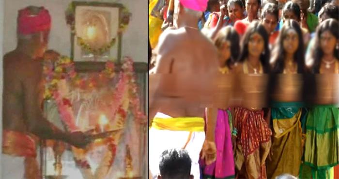 इस मंदिर में 15 दिन तक लड़के लड़कियों को रखा जाता है बिना कपड़ों के साथ, वजह उड़ा देगी होश