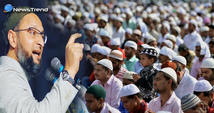 ओवैसी की मुसलमानों को चेतावनी, कहा हिन्दुस्तान में जिंदा रहना है तो करना होगा ऐसा