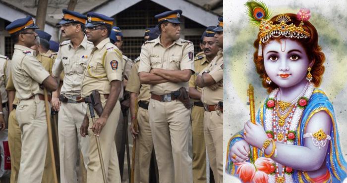 पुलिस की वर्दी में नजर आएंगे भगवान कृष्ण, शुरु हुआ विवाद