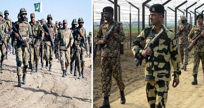 सीमा पार पाकिस्तानी सेना ने बड़ा दी अपनी हलचल, सुरक्षा कारणों से भारतीय सीमा पर बढ़ाई गयी सेना की चौकसी