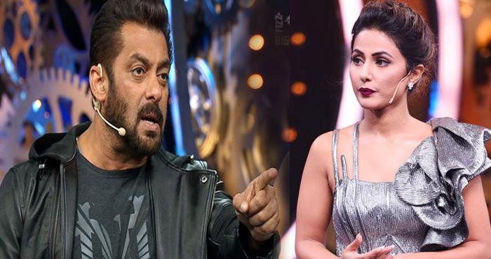 BIG BOSS: सलमान खान की सच्चाई आयी सामने, हिना को निकालना चाहते थे धक्के मार कर घर से बाहर!