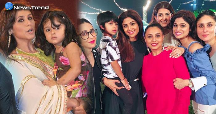 रानी मुखर्जी के बेटी के बर्थडे पार्टी में, फिल्मी सितारो ने की खूब मस्ती, देखें तस्वीरें