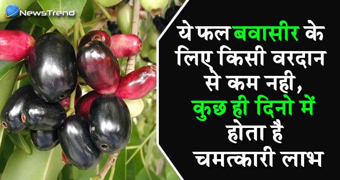 बवासीर से पीड़ित लोगों के लिए रामबाण है ये फल, गुठली से लेकर छाल,पत्ती तक हैं उपयोगी