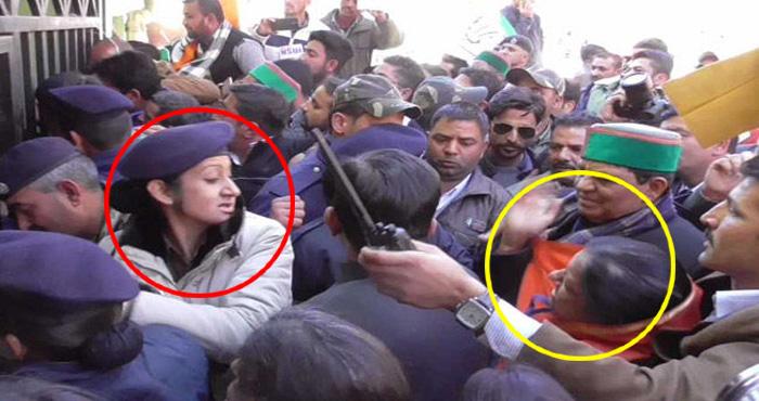 विधायक ने महिला पुलिसकर्मी को मारा थप्पड़, जबाव में पुलिसकर्मी ने जो किया देख कर आप करेंगे सलाम