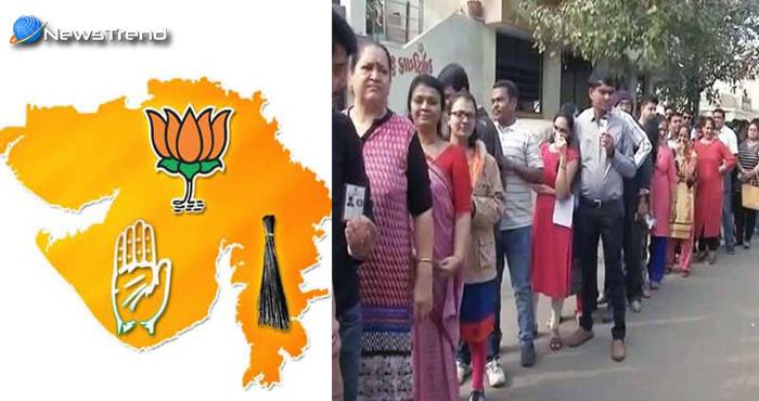 गुजरात विधानसभा चुनाव दुसरे और अंतिम चरण का मतदान शुरू, रिकॉर्ड मतदान होने की सम्भावना