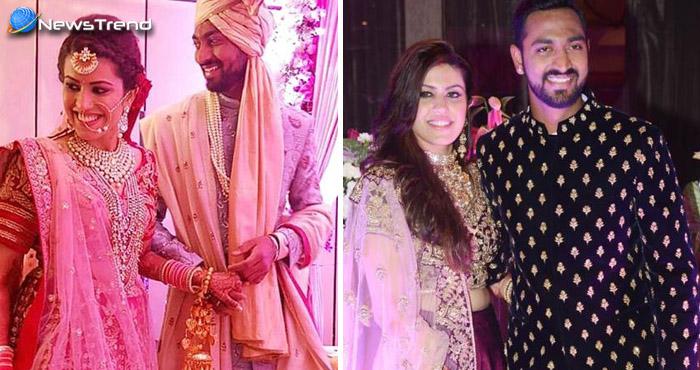क्रिकेटर पांड्या भी बंध गए शादी के बंधन में, उनकी बीबी हैं अनुष्का शर्मा की तरह ही खुबसूरत
