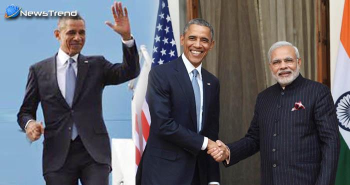 भारत आये अमेरिका के पूर्व राष्ट्रपति ओबामा, आज करेंगे युवाओं और पीएम मोदी से मुलाकात