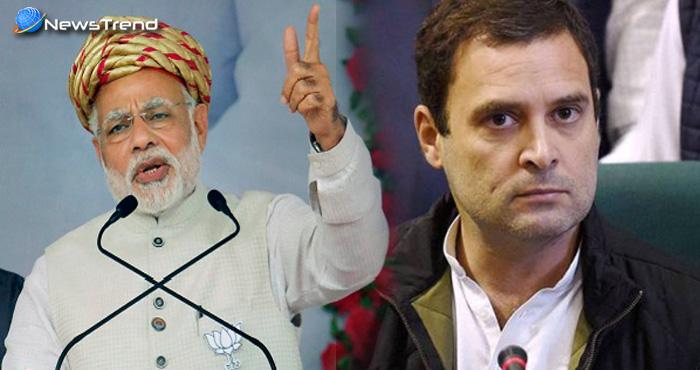 मोदी ने कांग्रेस और राहुल गाँधी को लिया निशाने पर, कांग्रेस में नई पीढ़ी, लेकिन नयापन नहीं आया
