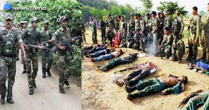 तेलंगाना के जंगलों में सुरक्षाबलों और नक्सलियों के बीच मुठभेड़, हमले में 8 हार्डकोर नक्सली ढेर